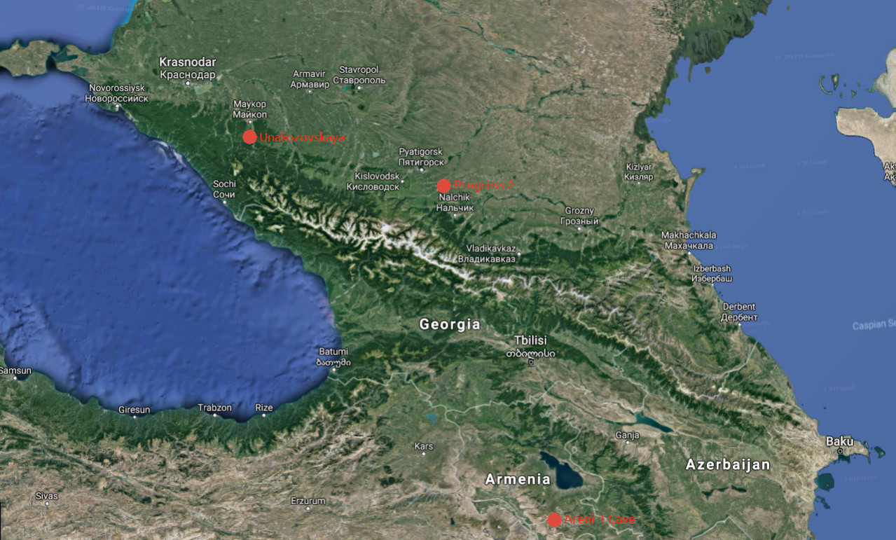 So what was going on around the Caucasus? – Ancient DNA Era